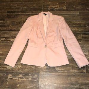 Express Blush Suit Jacket